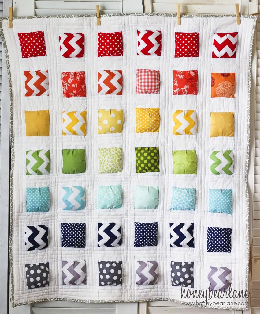New Puff Quilt Pattern: 'Puffy Island' : unique quilt designs - Adamdwight.com