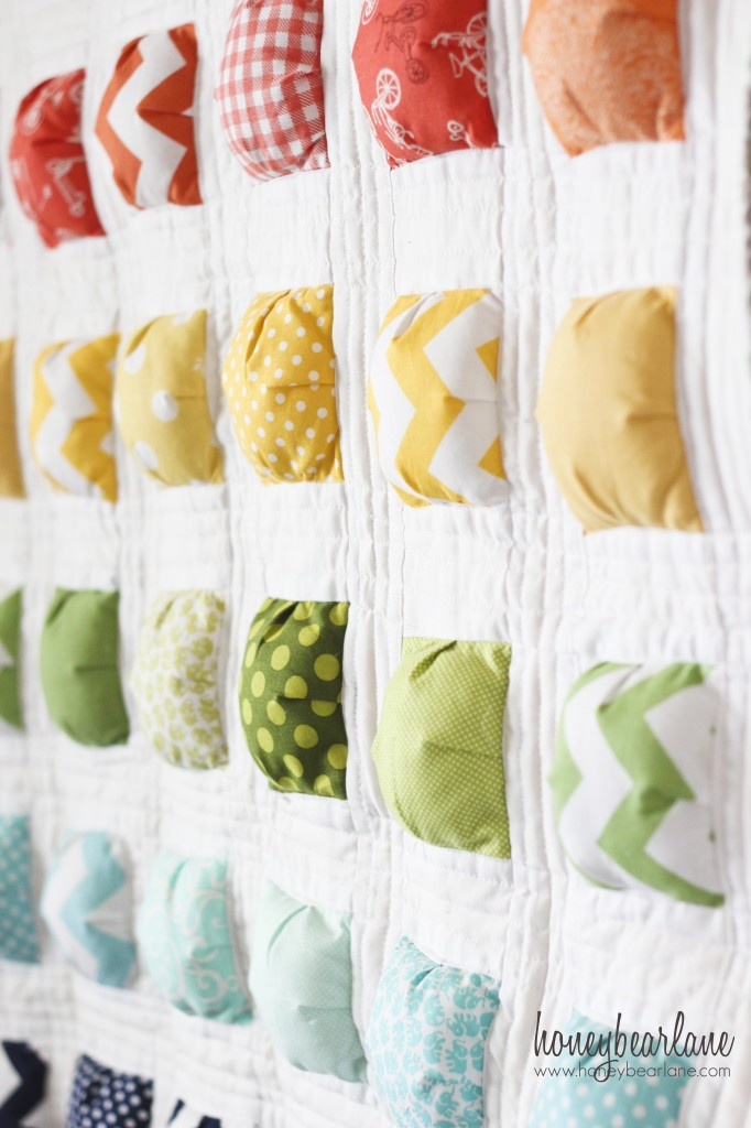 New Puff Quilt Pattern 'Puffy Island' Classy Puff Quilt Patterns
