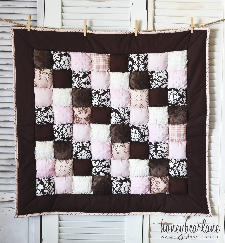 Four New Puff Quilts