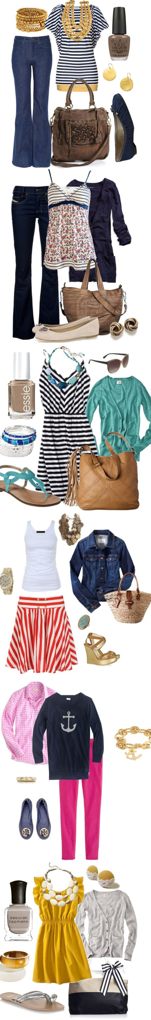 Nautical Spring Fashion 2013