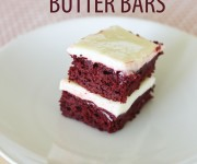 Red Velvet Butter Bars