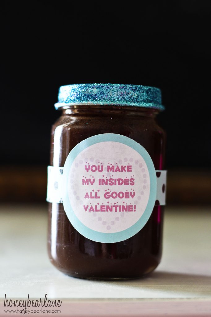 hot fudge valentine aqua