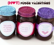 hot fudge valentines
