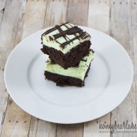 Mint Chocolate Butter Bars