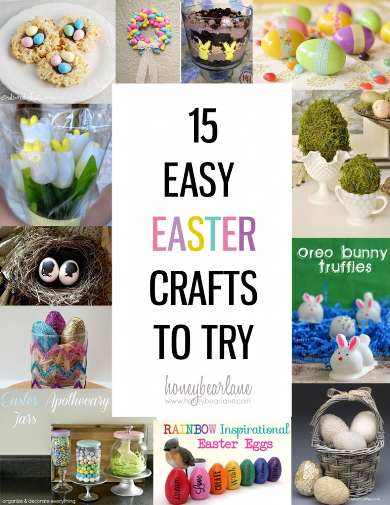 15 Easter Crafts to Try