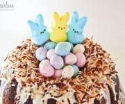 Fun easter cake