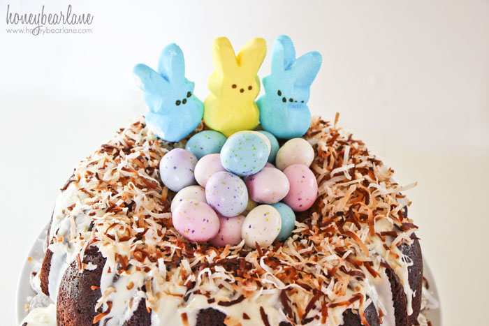 Easter Chocolate Bundt Cake