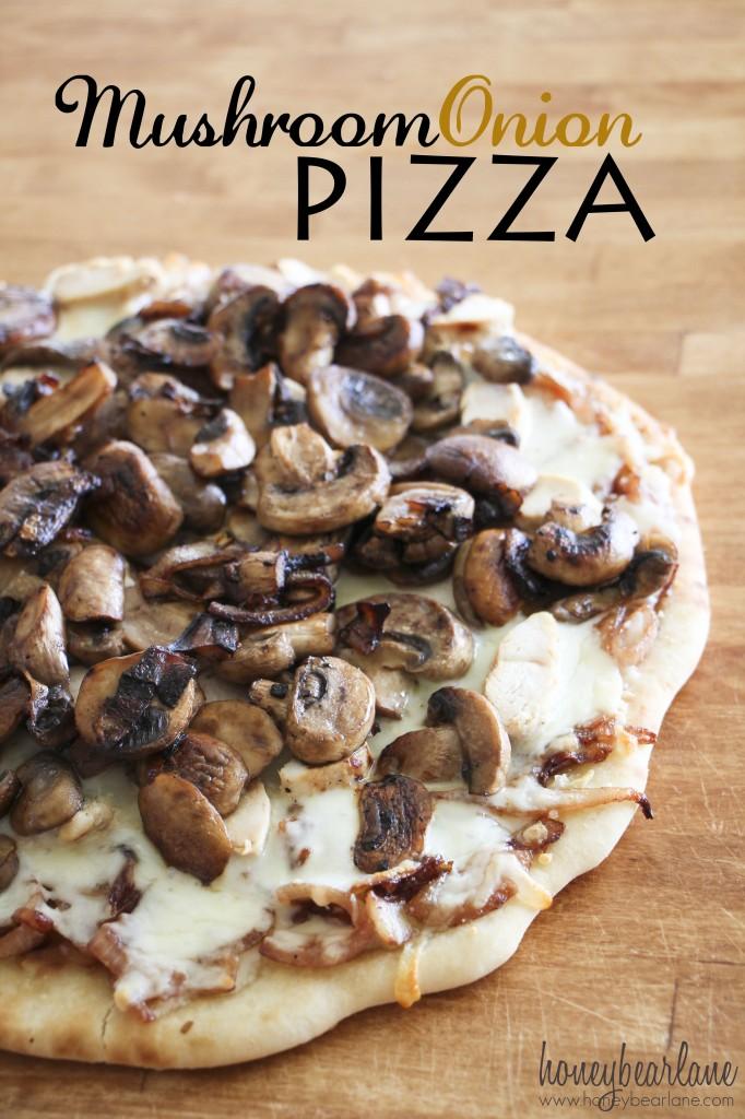 Mushroom Onion Pizza