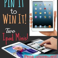 Ipad Mini Giveaway! (2 Winners)