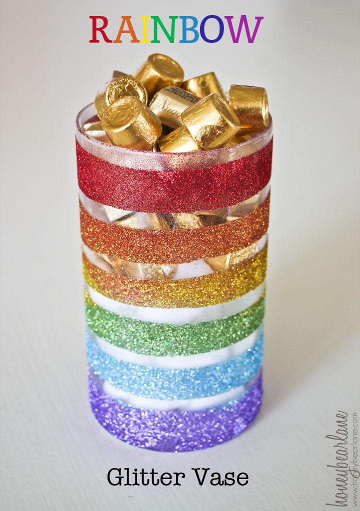 Gold Glitter Kids Shoes