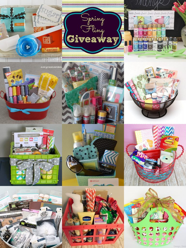 fun giveaway ideas spring fling baskets giveaway honeybear lane 2674