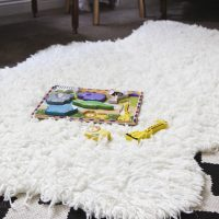 Make a Faux Sheepskin Rug