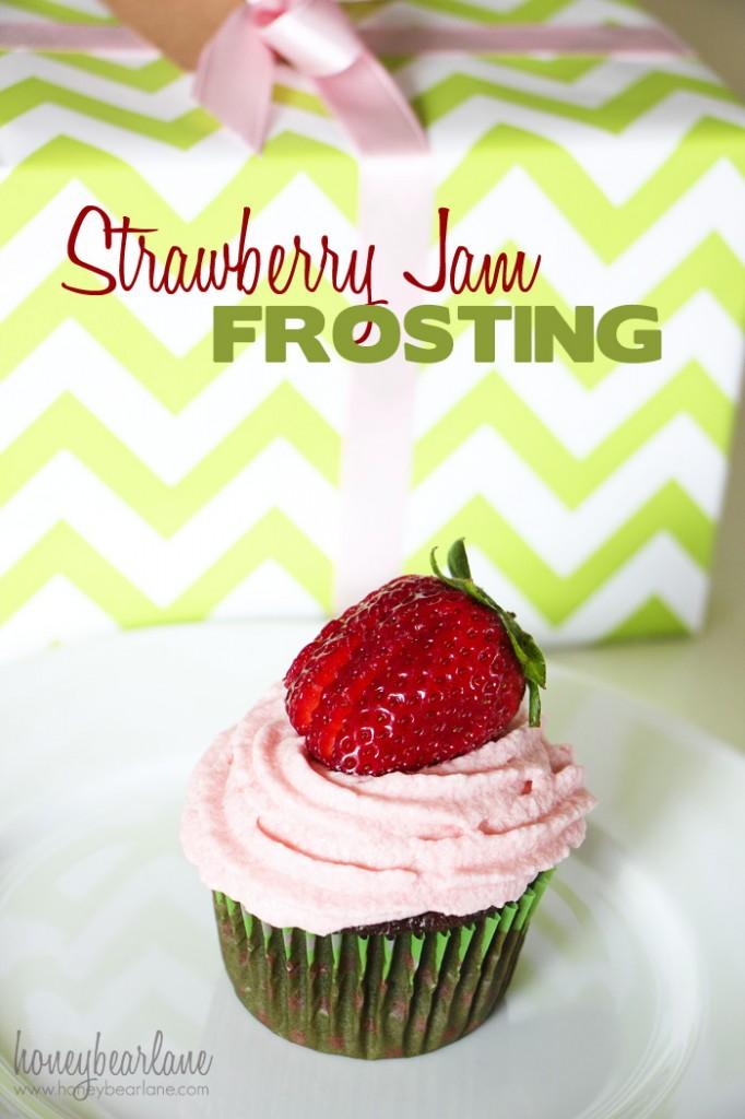 Strawberry Jam Frosting