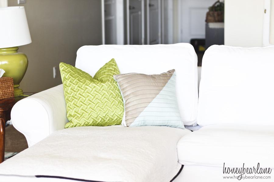 bhg colorblock pillow
