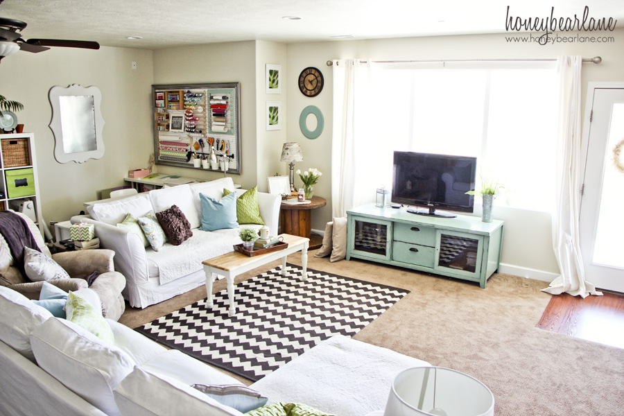 Family Room Makeover Ideas