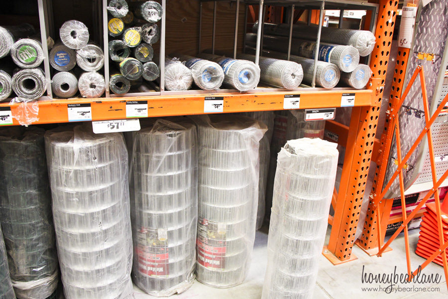 fencing at home depot