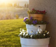 An Easy Tiered Planter and Other Plans