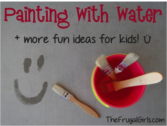 Painting-With-Water-Summer-Fun-For-Kids