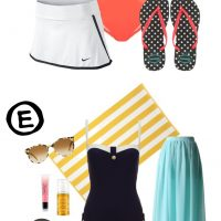 8 Modest Swimsuits Summer Outfits