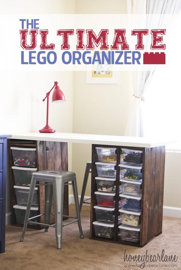 The Ultimate Lego Organizer