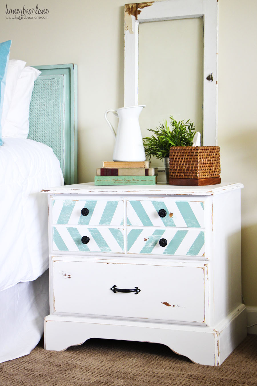beachy nightstand