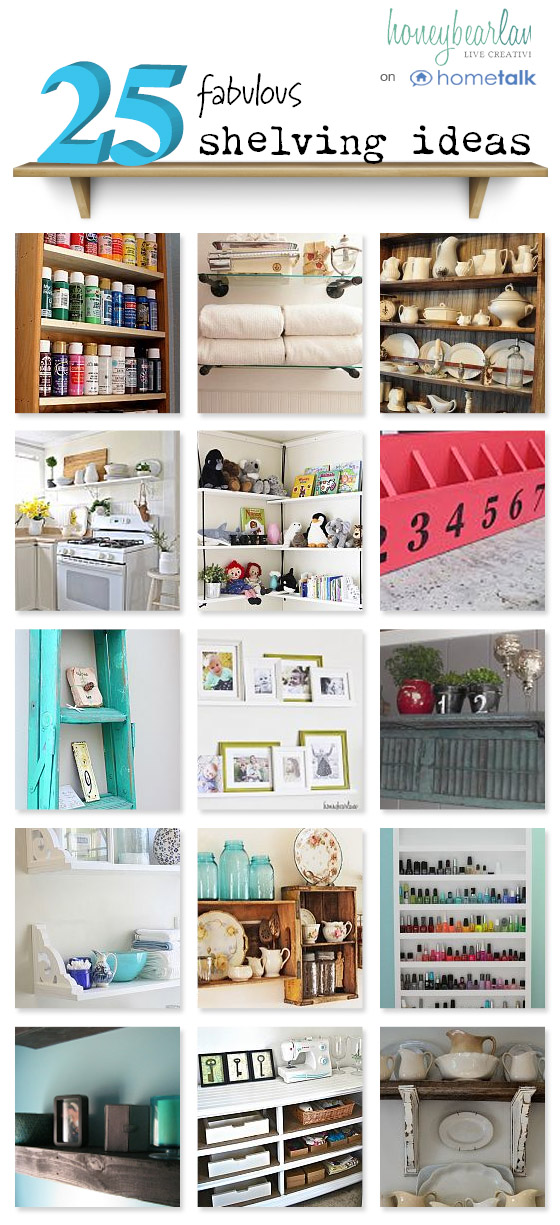 25 shelving ideas