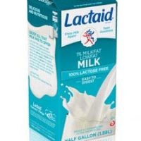 Good News for Sad Tummies: Lactaid