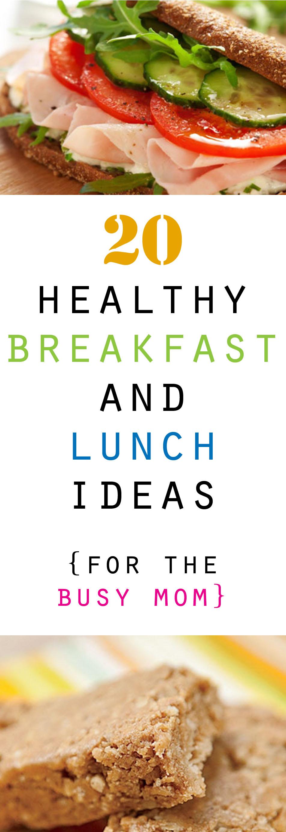 20 Healthy Breakfast And Lunch Ideas HoneyBear Lane