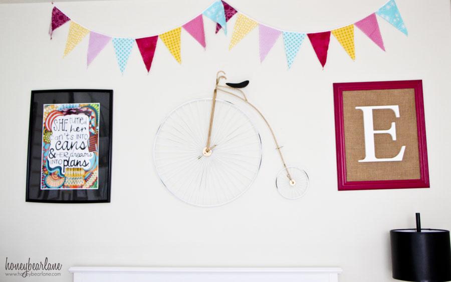 vintage circus bike