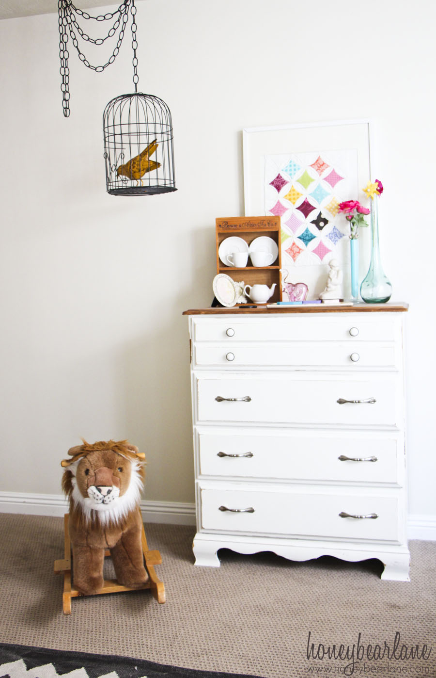 Vintage Circus Nursery Reveal Honeybear Lane