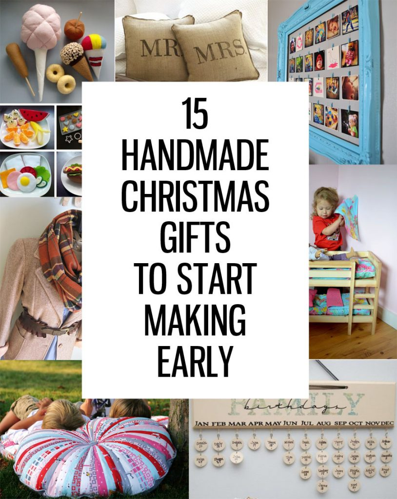 15 handmade christmas gifts to start making now for Handmade things