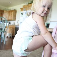 Ellie, Huggies Slip ons, and a Target Gift Card Giveaway