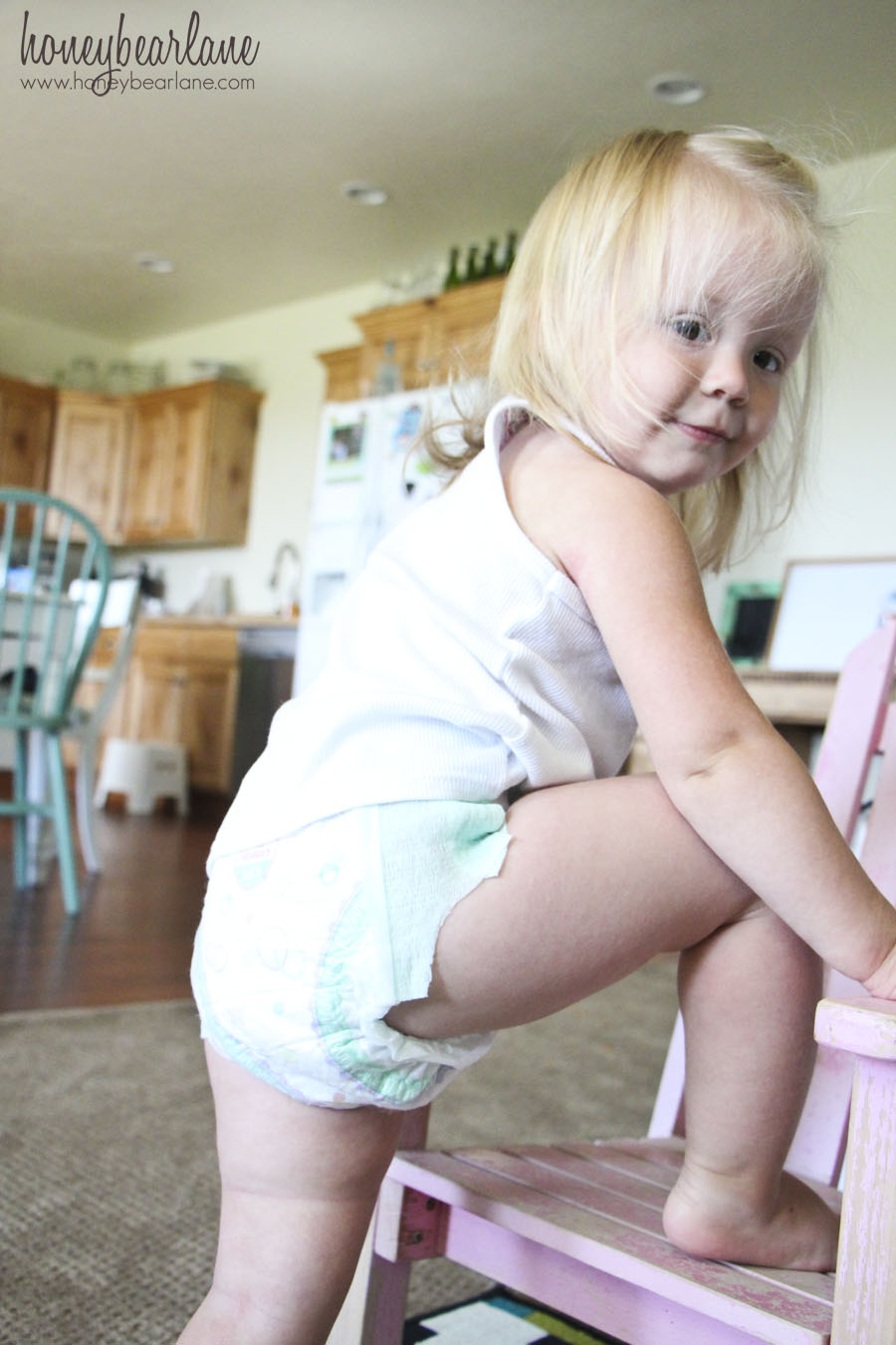 Diaper girl video