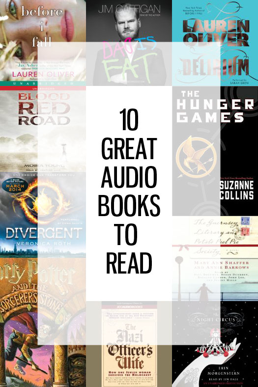 10 Great Audio Books to Read