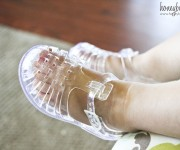 cute toddler jelly shoes