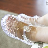 Toddler Style: Jelly Shoes