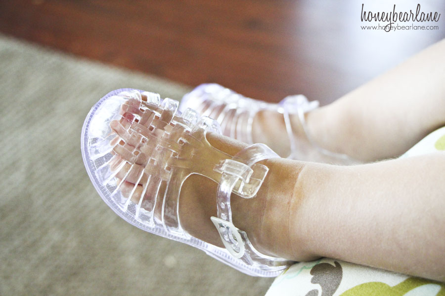 Toddler Girl Clear Jelly Shoes