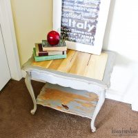 Replace a Glass Table Top with Wood Planks