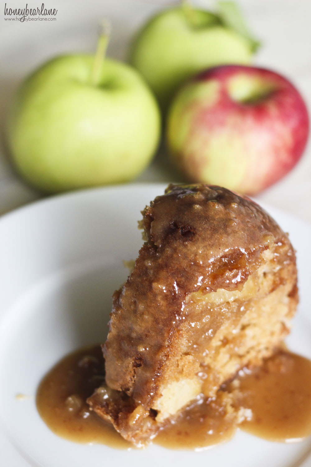 Caramel Apple Cake Recipe - HoneyBear Lane