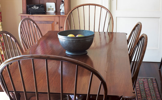 Solid Wood Oval Kitchen Table