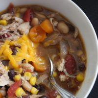 Chicken Chili Recipe and a Giveaway!