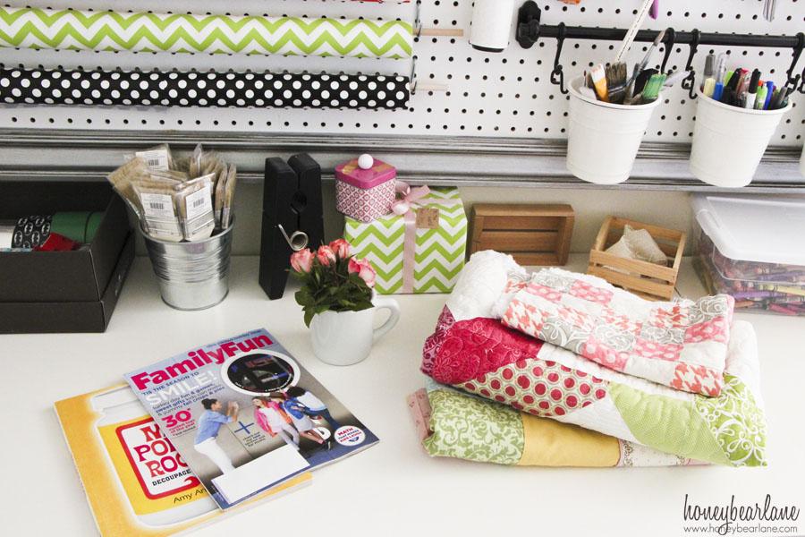 Cheap Craft Table Organization Ideas