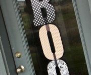 Halloween Door BOO Sign