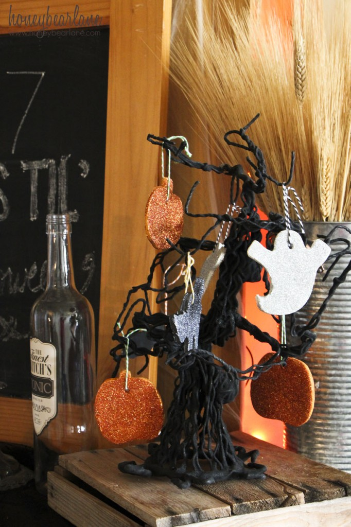 if you want to make your own you can purchase it at your local target target sells three american crafts halloween kits - Target Halloween Tree