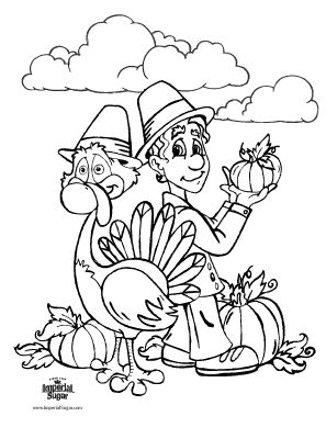 Turkeycoloring Pictures Kids Have At School