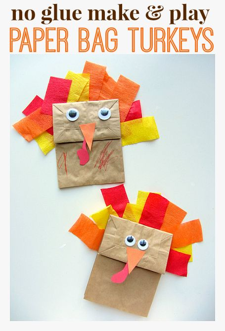 paper bag turkeys