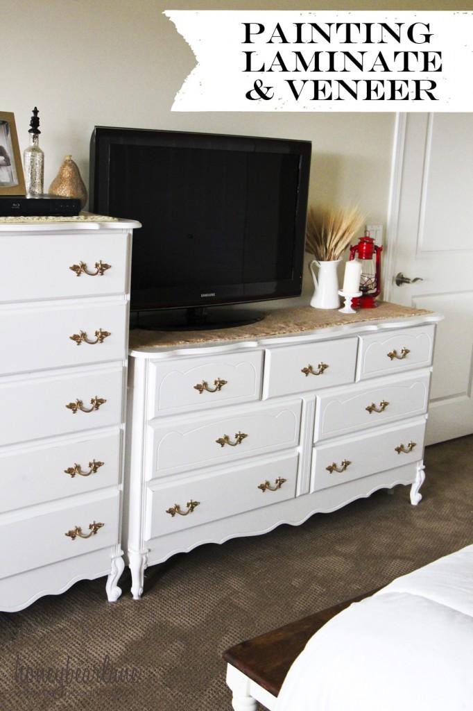 How to paint laminate or veneer