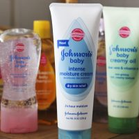 Johnson's Baby Skincare Basket Giveaway!