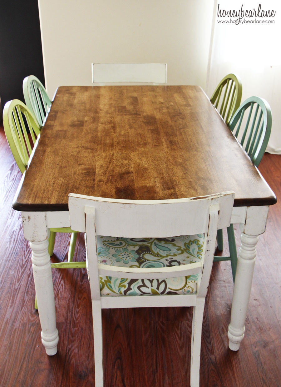The difference between orbital and palm sanders honeybear lane - Refinish contemporary dining room tables ...