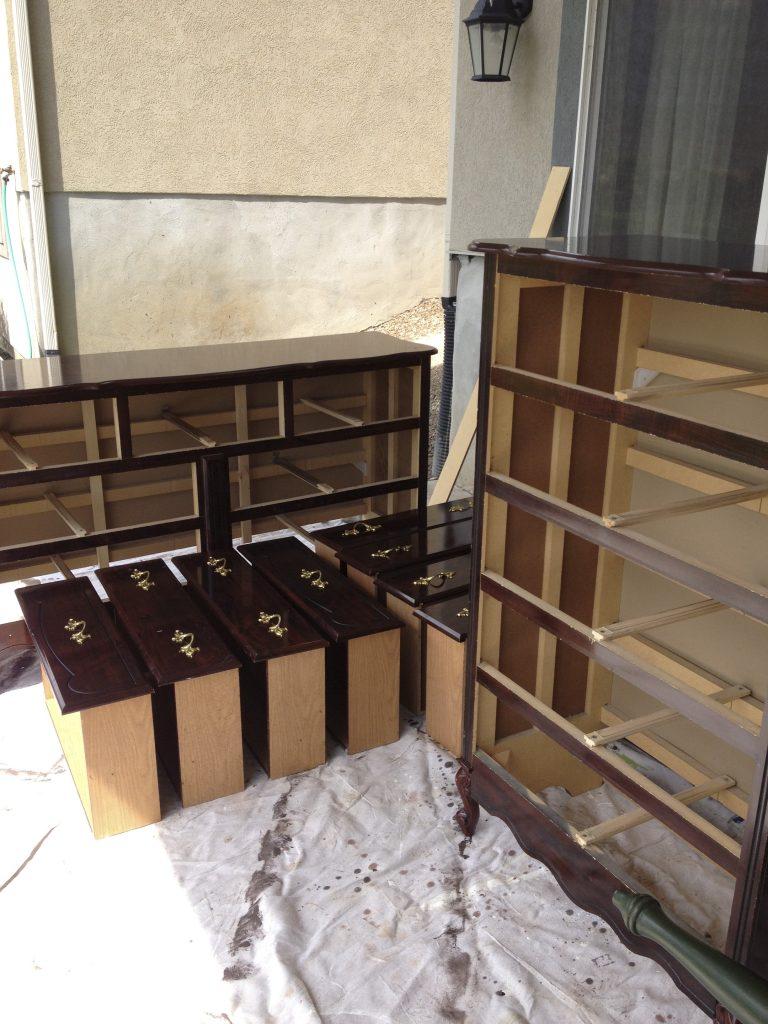 veneer dressers